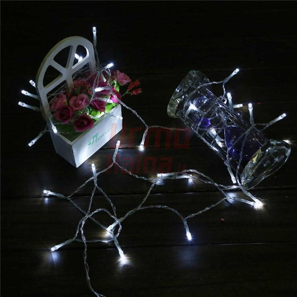 40 LED girlianda su baterijomis
