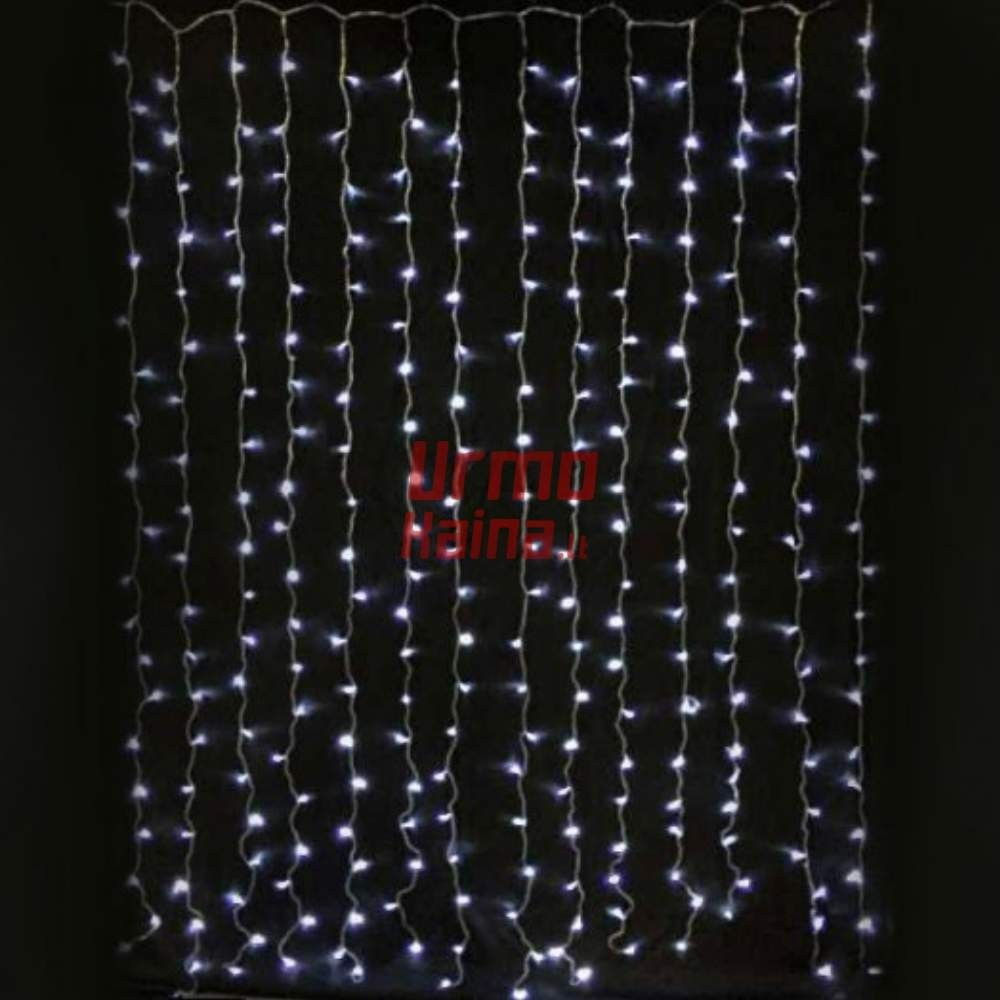 320 LED girlianda Užuolaida - Krioklys 3x3 m CL1