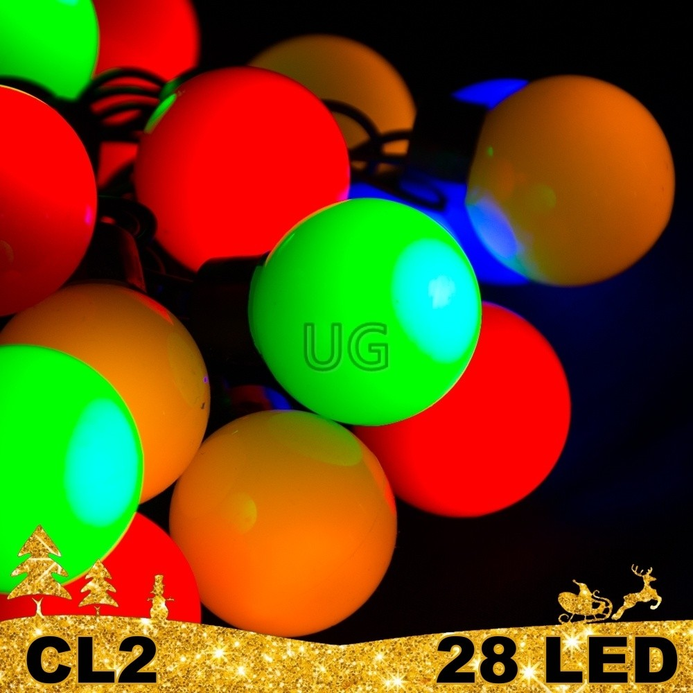 28 LED girlianda burbulai ECO CL2