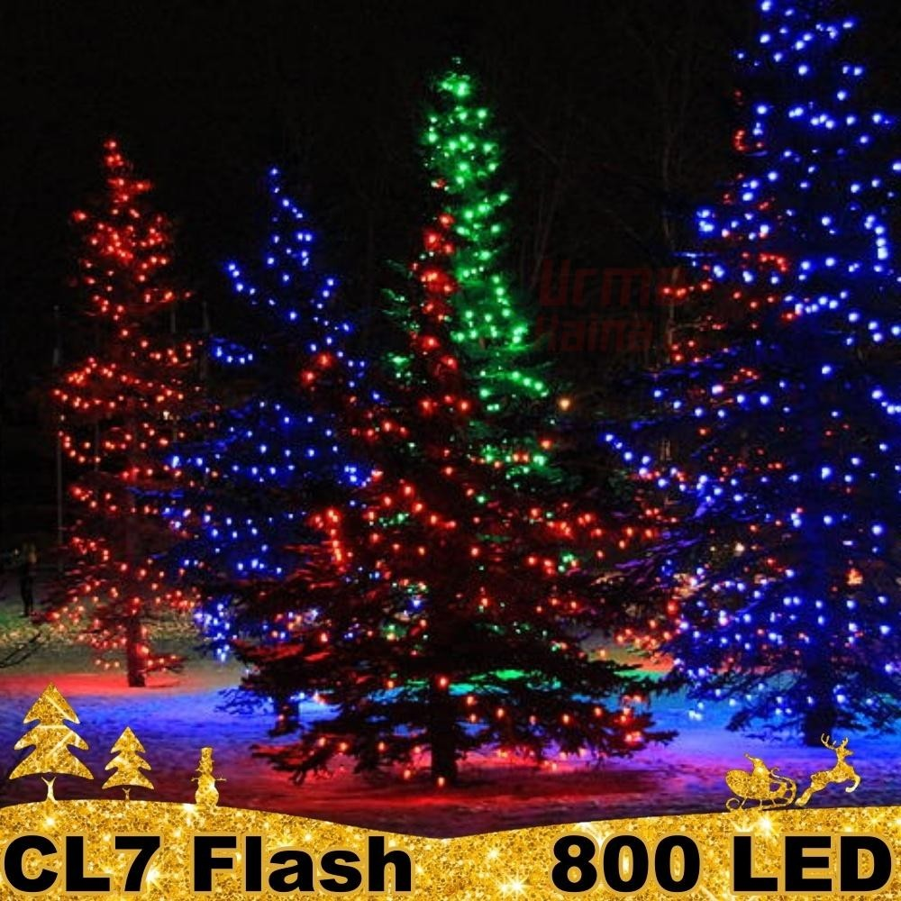 800 LED profesionali lauko girlianda PRO FLASH CL7
