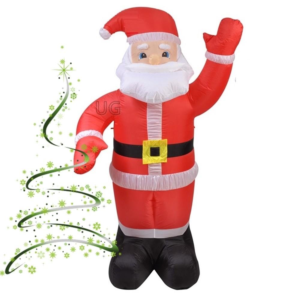 Pripučiamas Kalėdų senelis